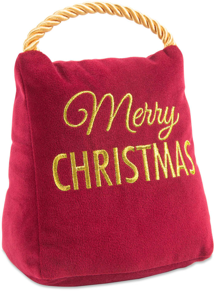 Christmas Wishes Red Velvet Door Stopper
