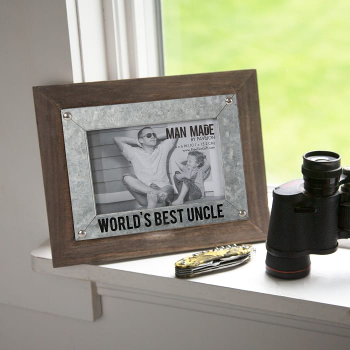 World's Best Uncle 4x6 Photo Frame