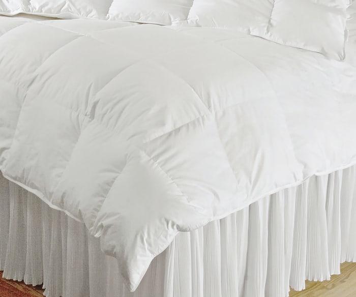 Queen White Down Alternative Comforter