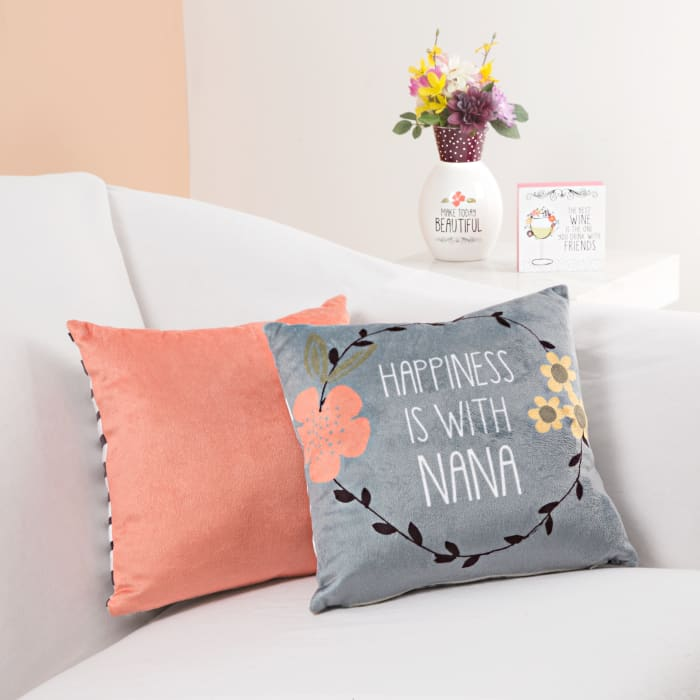 Nana Floral Pillow