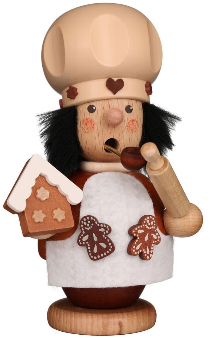 Christian Ulbricht Incense Burner - Gingerbread Baker (Natural)