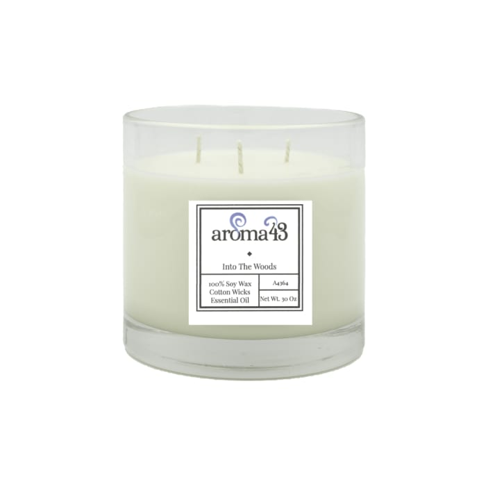Into The Woods Large 3 Wick Luxury Candle