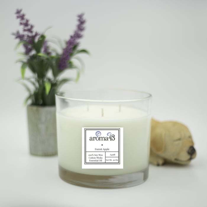 Forest Apple Large 3 Wick Luxury Candle