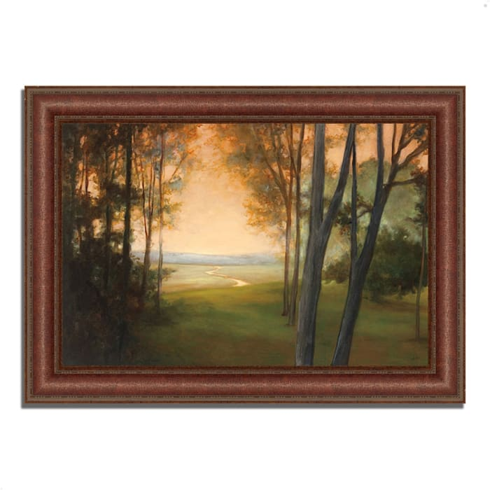 Between the Worlds by Julia Purinton 43 x 31 Framed Painting Print