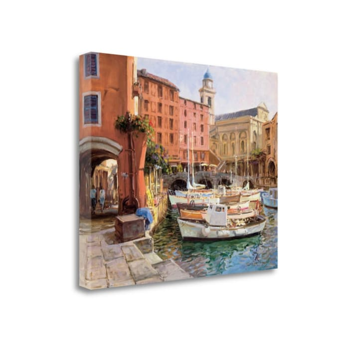 Mediterranean Colors By George Bates 23 x 18 Gallery Wrap Canvas