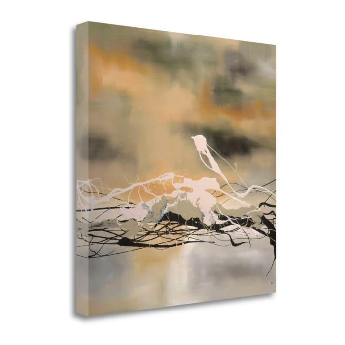 Secret Garden By Laurie Maitland 22 x 22 Gallery Wrap Canvas