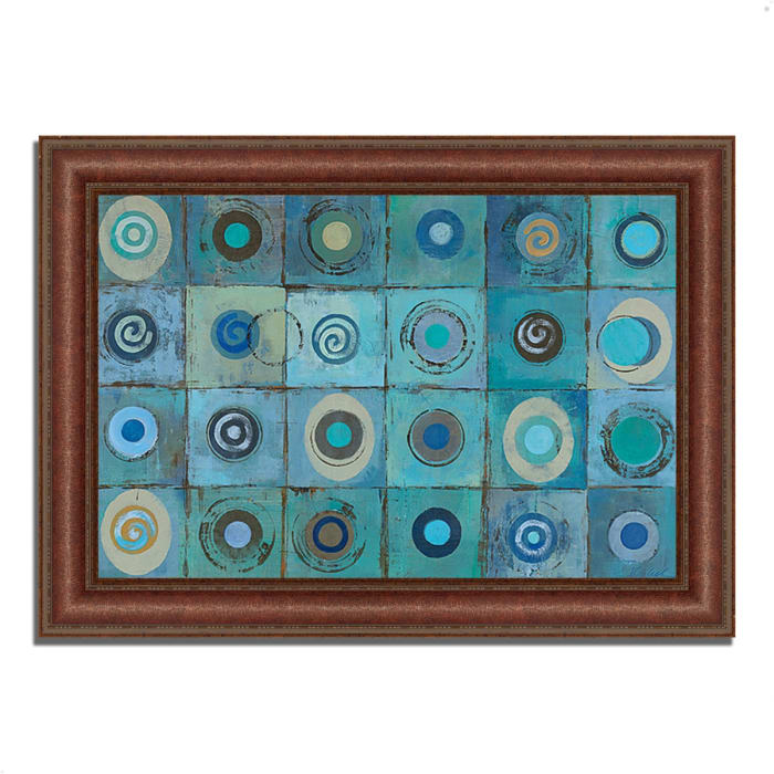 Underwater Mosaic by Silvia Vassileva 43 x 31 Framed Painting Print