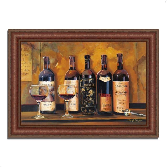 Cellar Reds by Marilyn Hageman 52 x 37 Framed Painting Print