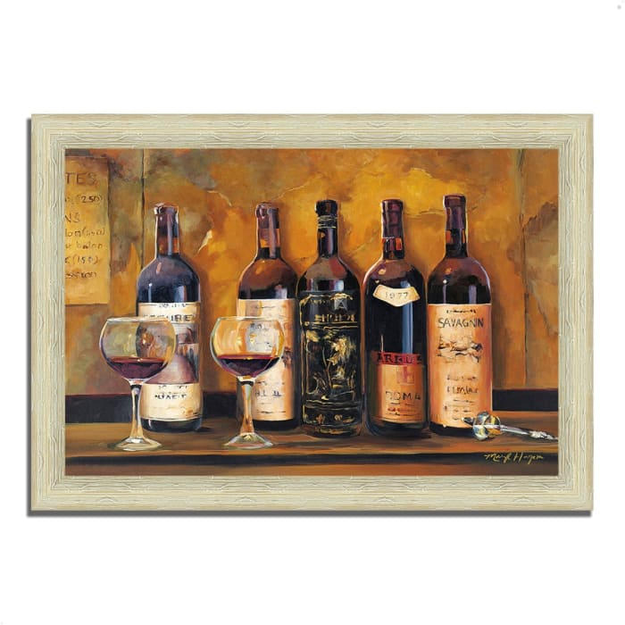 Cellar Reds by Marilyn Hageman 42  x 30 Framed Painting Print