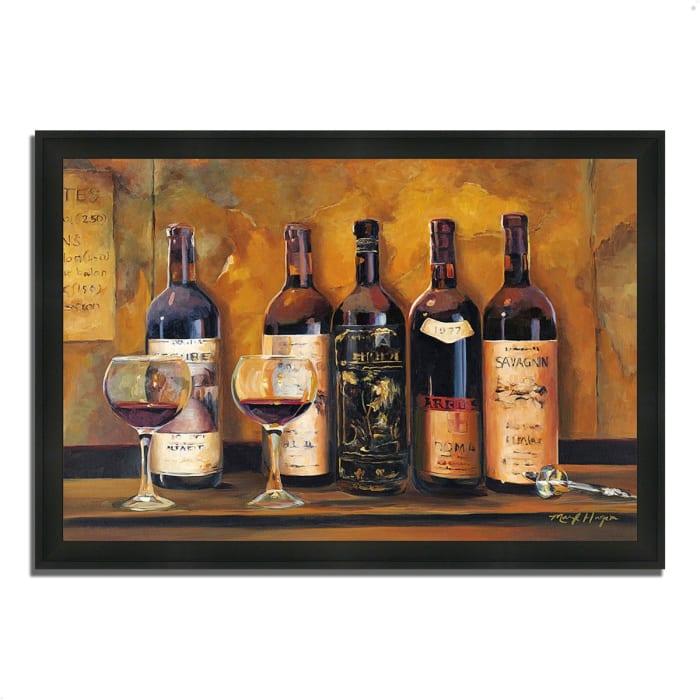 Cellar Reds by Marilyn Hageman 33  x 23 Framed Painting Print