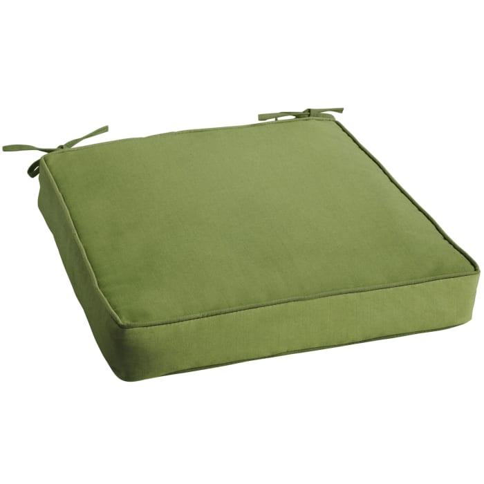 Sunbrella Cushion in Spectrum Green