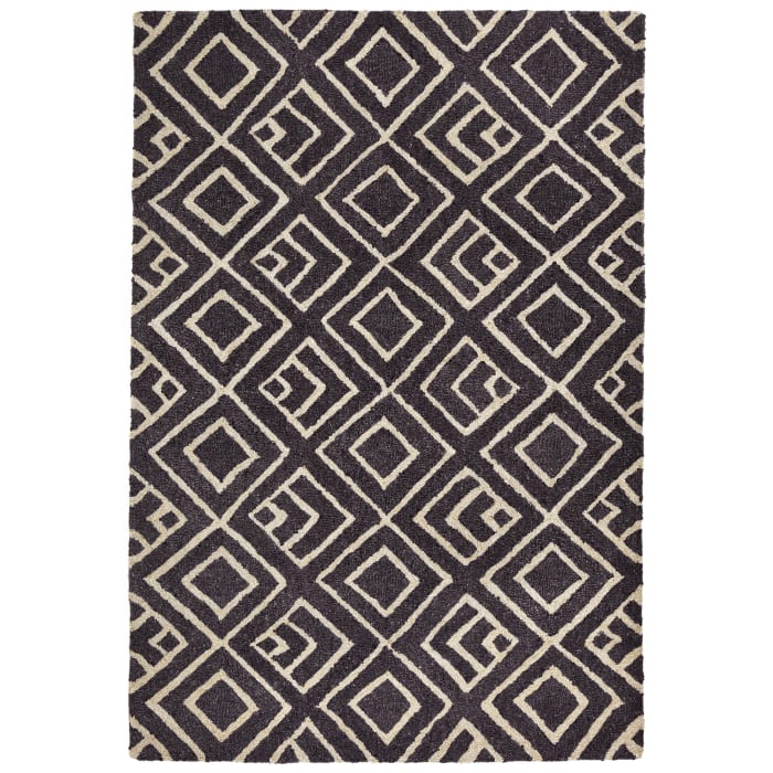 Kuba Indoor/Outdoor Rug Grey 7'5