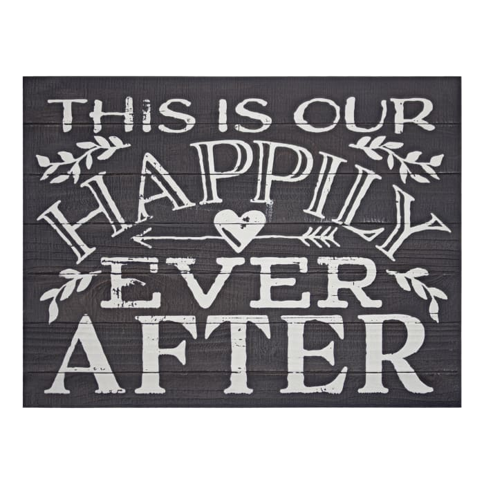 Happily Ever After Wall Decor