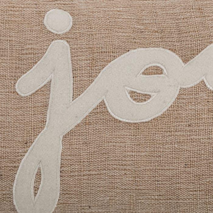 Joy Jute and Cotton Lumbar Pillow Cover