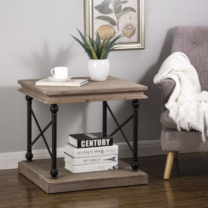 French Vintage-style Side Table