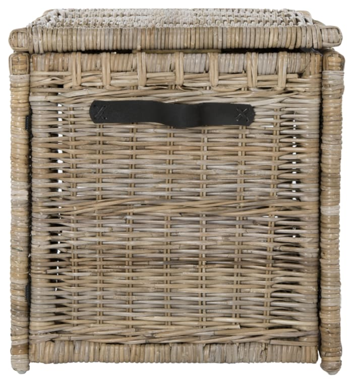 Rattan Storage Trunk Natural 35in