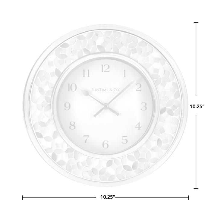 Sarah Mosaic Wall Clock