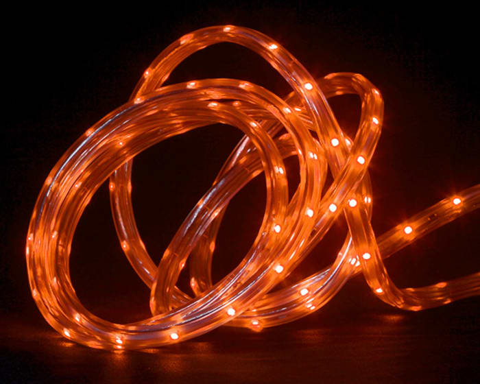 #30' Orange LED Indoor/Outdoor Linear Tape Lighting