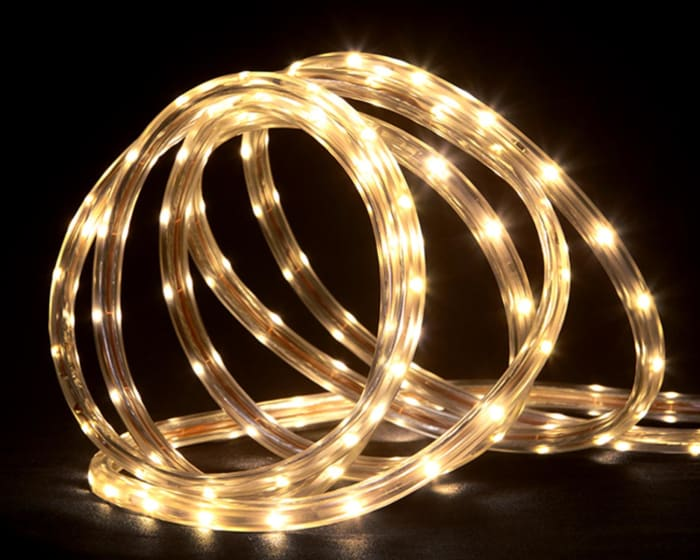 30' Warm White LED Indoor/Outdoor Linear Tape Lighting