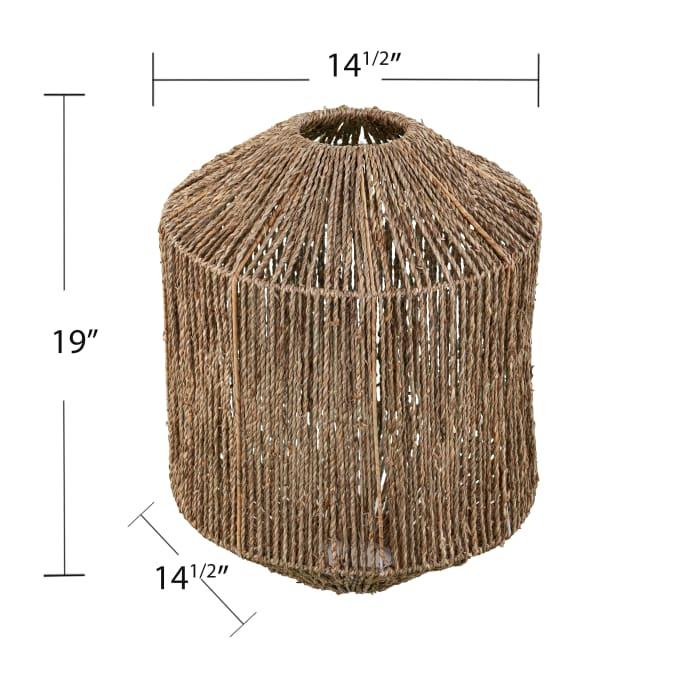 Ainsworth Seagrass Pendant Shade