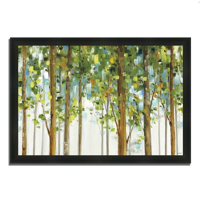 Framed Painting Print 46 In. x 33 In. Forest Study I by Lisa Audit Multi Color