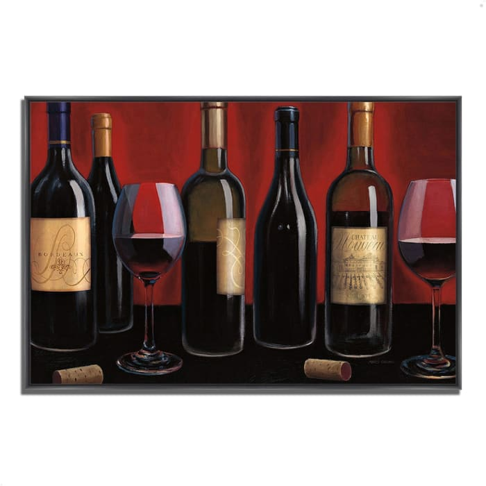 Fine Art Giclee Print on Gallery Wrap Canvas 59 In. x 40 In. Grand Reserve by Marco Fabiano Multi Color