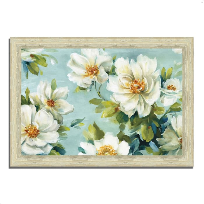 Framed Painting Print 36 In. x 26 In. Reflections I by Lisa Audit Multi Color