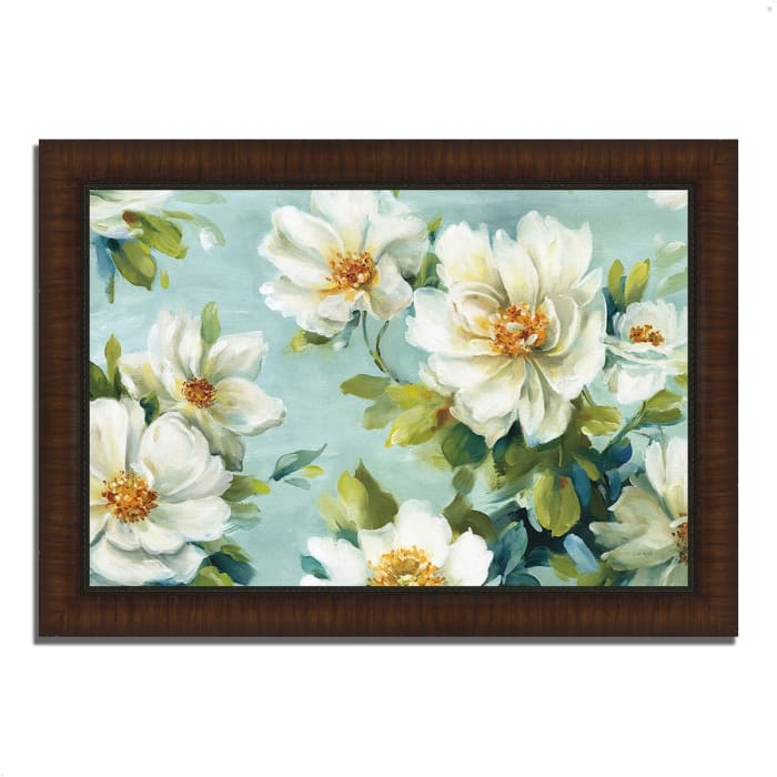 Framed Painting Print 42 In. x 30 In. Reflections I by Lisa Audit Multi Color