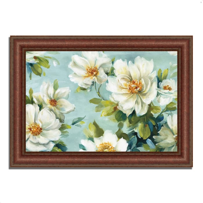 Framed Painting Print 52 In. x 37 In. Reflections I by Lisa Audit Multi Color