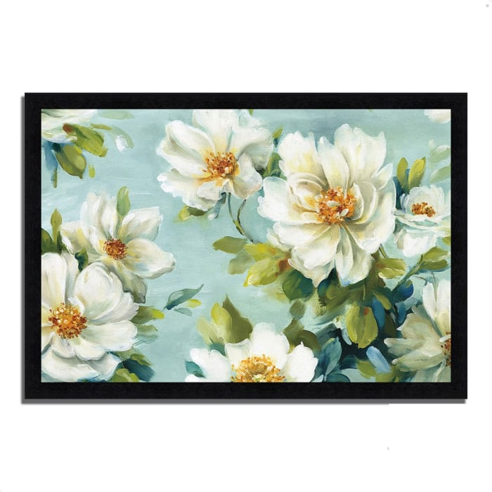 Framed Painting Print 33 In. x 23 In. Reflections I by Lisa Audit Multi Color