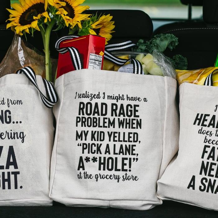 Road Rage - 100% Cotton Twill Gift Bag