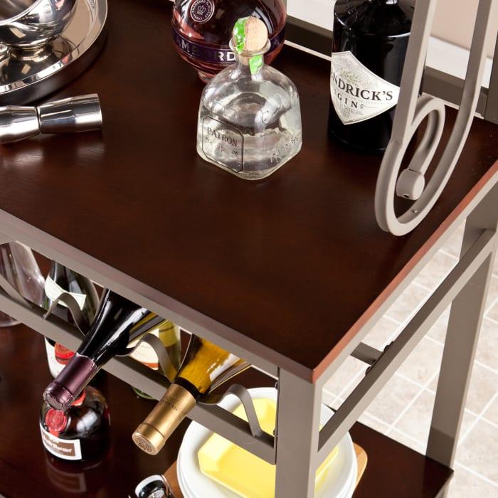 Reginald Bakers Rack with Wine Storage