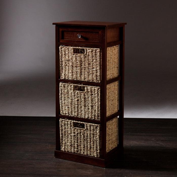 Ryde 3-Basket Storage Tower