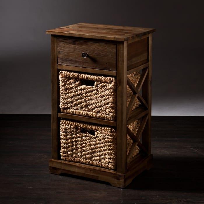Harold  2-Basket Storage Shelf