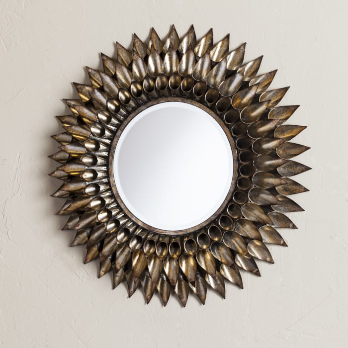 Adrien Round Decorative Wall Mirror