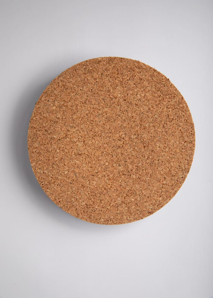 The Power Colorful Recycled Glass Coaster
