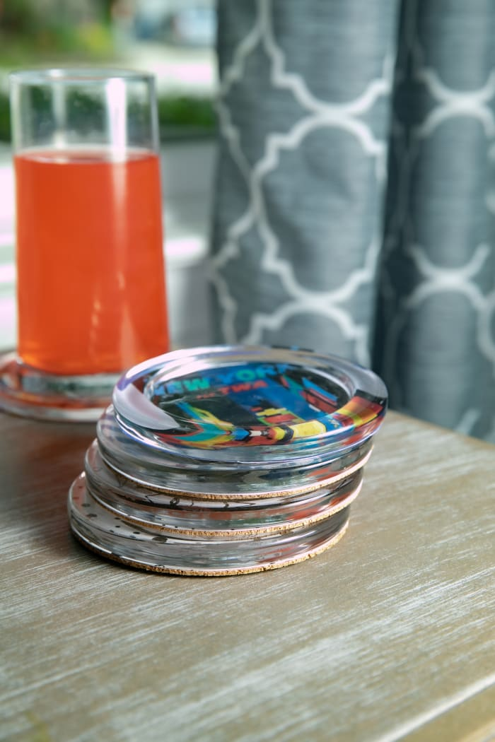 Recycled Glass Coaster Set of 4