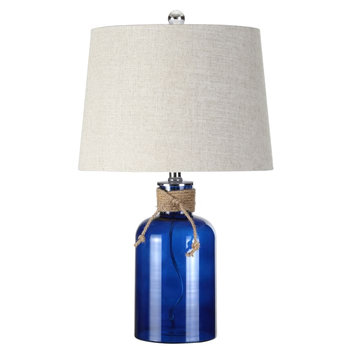 Cobalt Natural Coastal Table Lamp