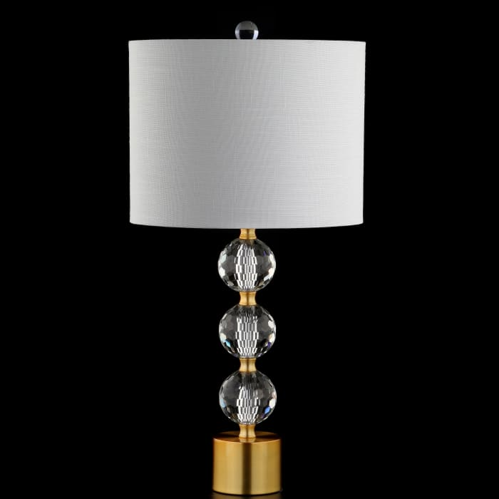 Faceted Crystal Orb Table Lamp