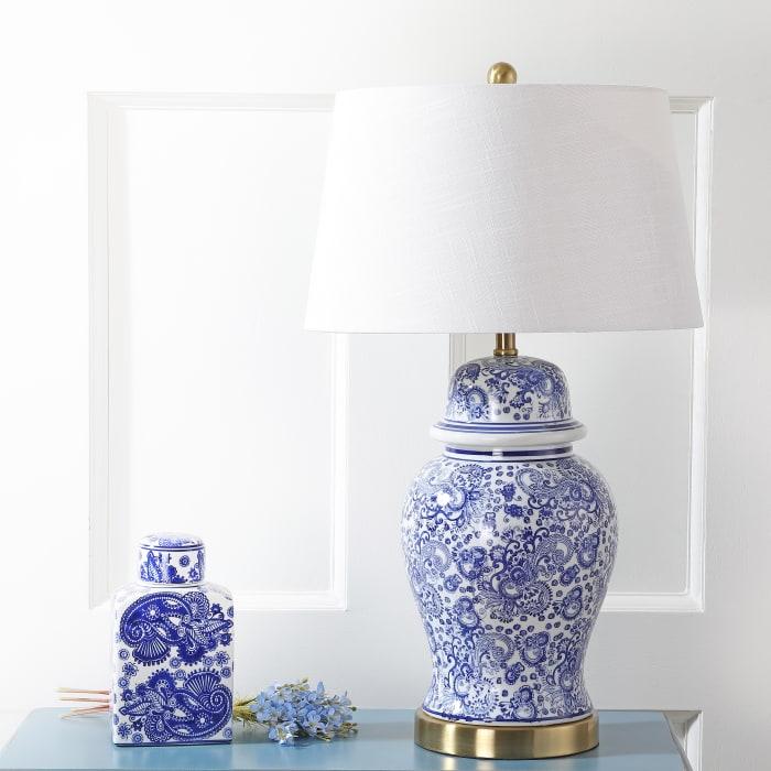 Blue Ginger Jar Table Lamp