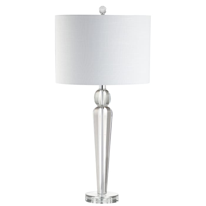 Crystal Table Lamp, Clear