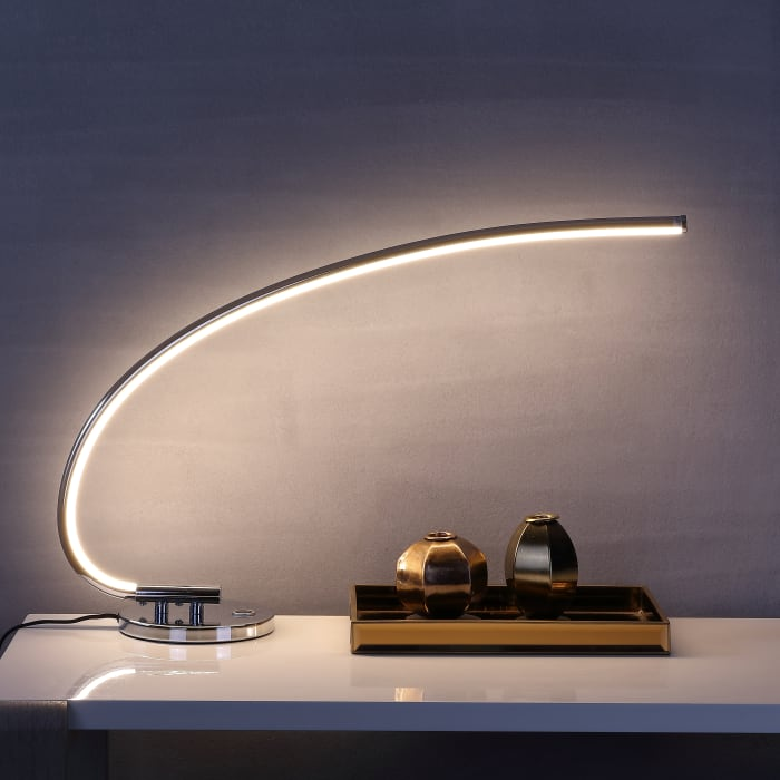 Integrated Task Lamp, Chrome