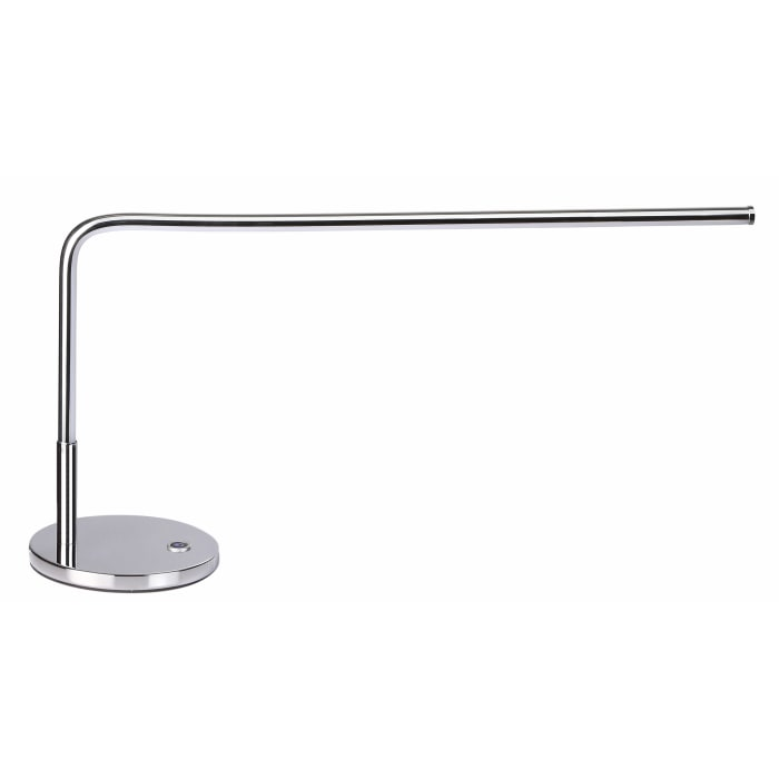 LED Integrated Task Lamp, Chrome