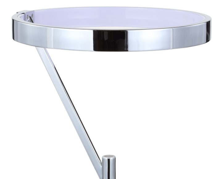 Integrated LED Metal Table Lamp, Chrome