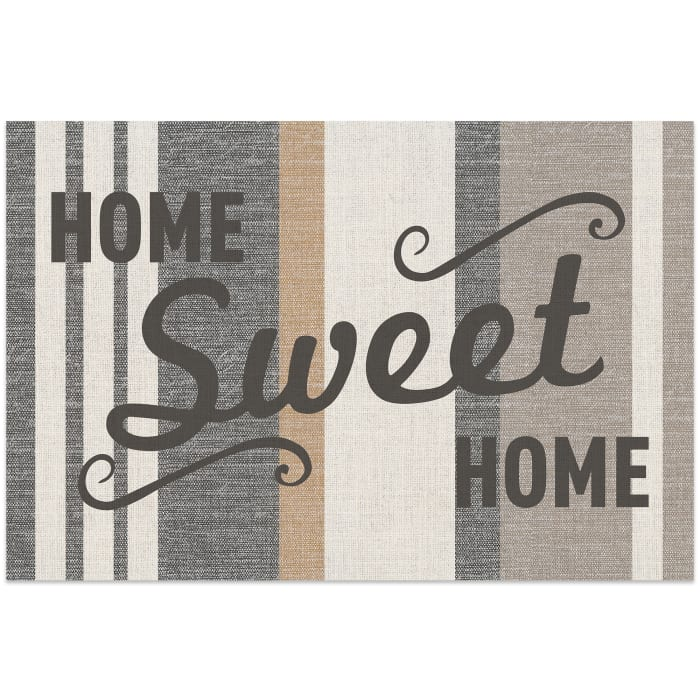 Home Sweet Home Vinyl 2' x 3' Floor Mat