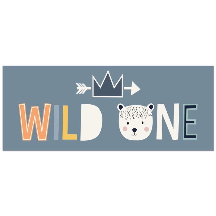 Wild One Decorative Vinyl 2' x 5' Floor Mat