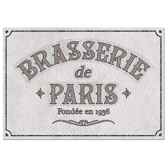 Paris Brasserie Mosaic Vinyl 4'5