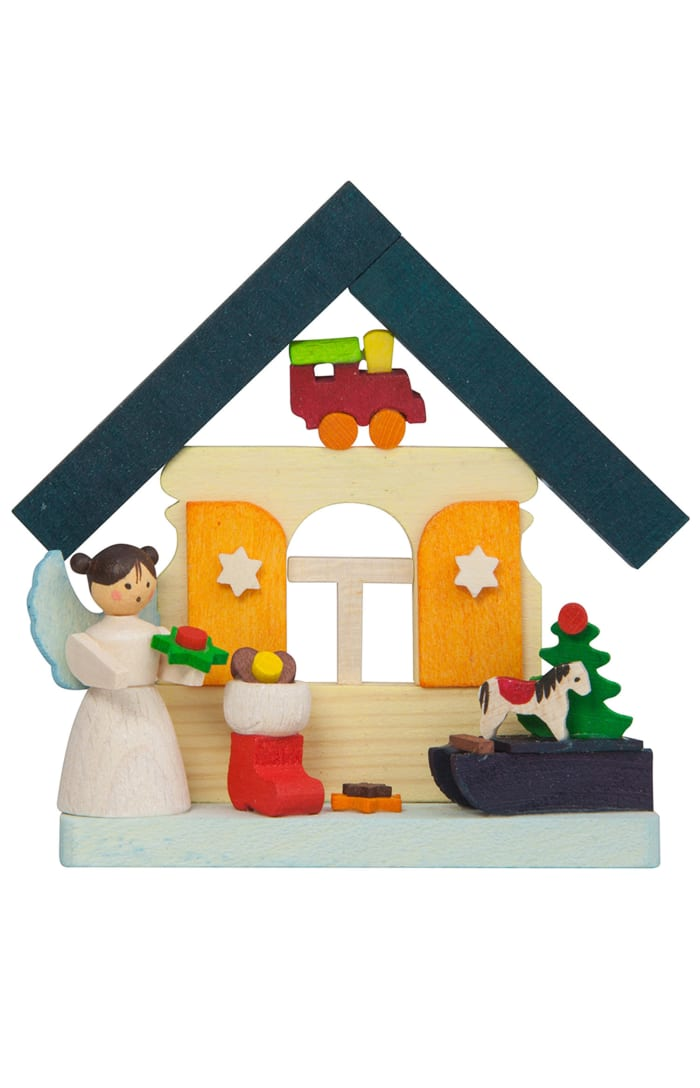 Graupner Angel with Gifts House Ornament