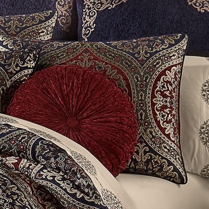 Tamera Red King 4Pc. Comforter Set