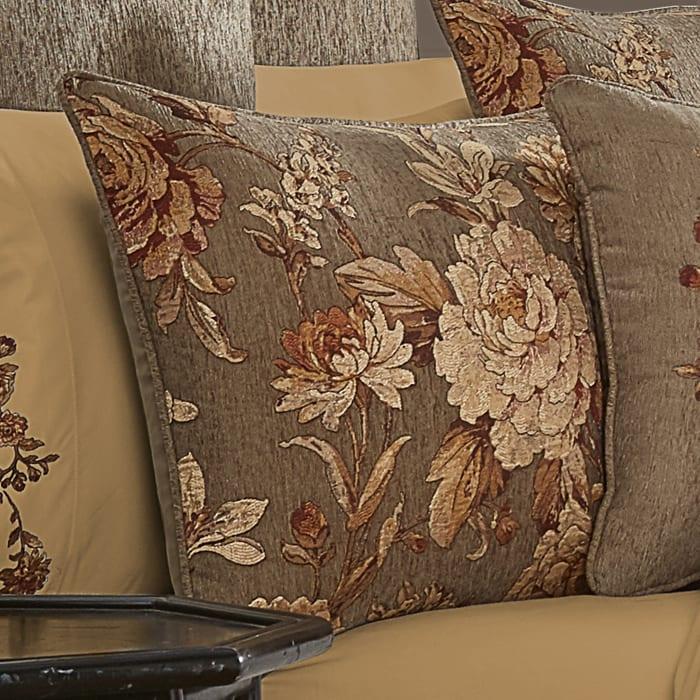 Carmella Rust King 4Pc. Comforter Set